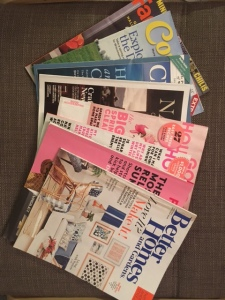 Selection of magazines